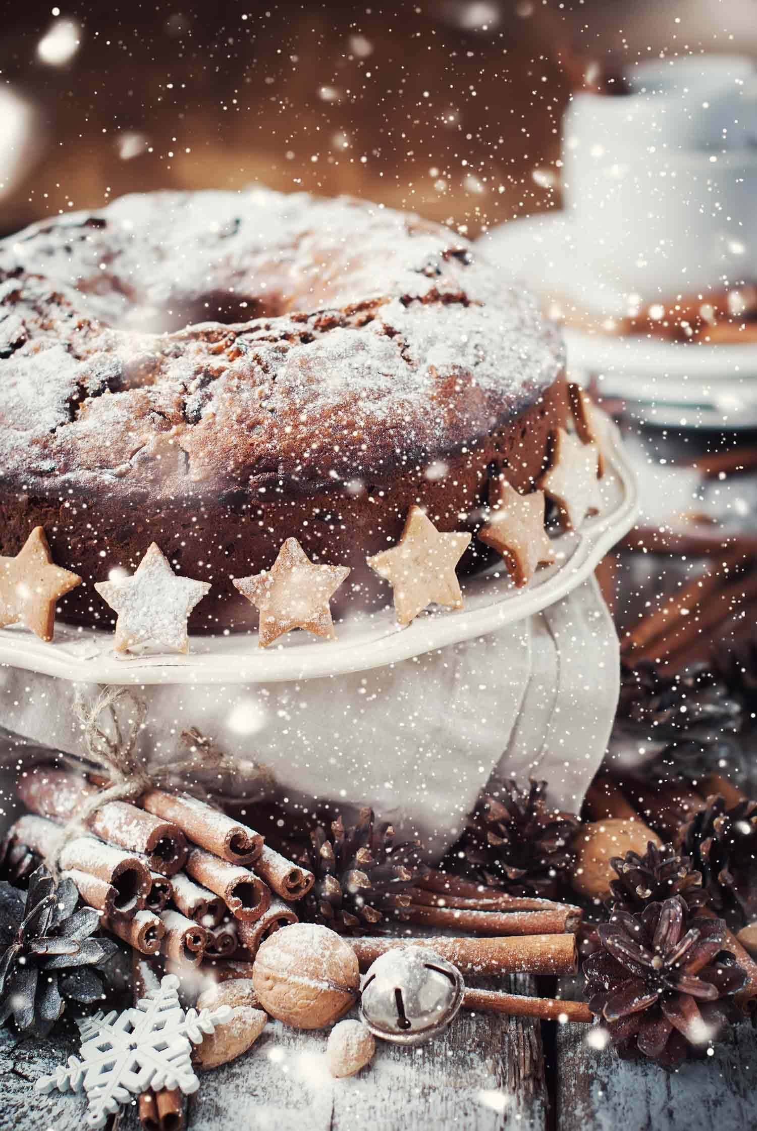 Fox and Goose – Christmas Cake